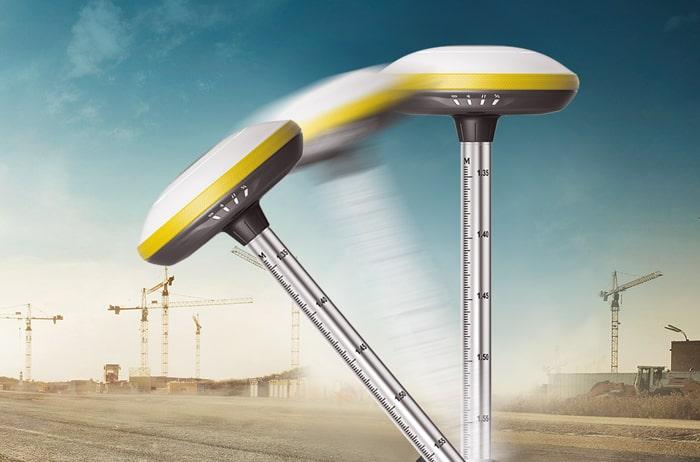 đo cao độ bằng máy gps 2 tần E-Survey E300Pro