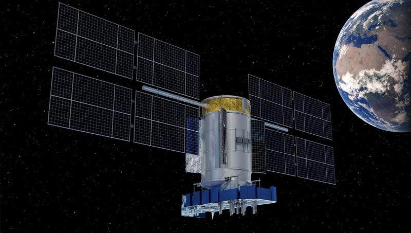vệ tinh glonass trong không gian